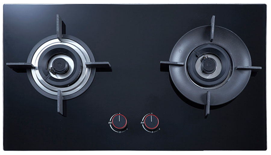 86series Volcano Wok Glass Hob LKGH-8602MB